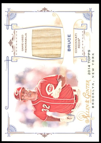 Photo of 2014 Topps Allen and Ginter Relics #FRBJB Jay Bruce B