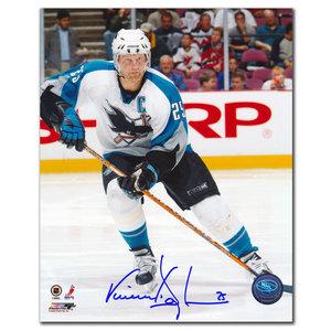 Vincent Damphousse San Jose Sharks Autographed 8x10
