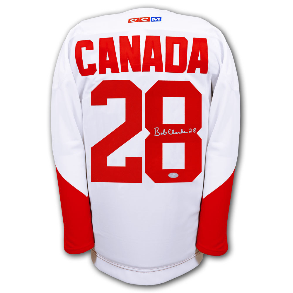 Bobby Clarke Team Canada 1972 SUMMIT SERIES Autographed Jersey