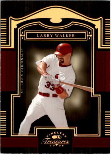 Photo of 2005 Timeless Treasures Bronze #83 Larry Walker