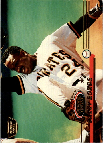 Photo of 1993 Stadium Club Members Only Parallel #51B Barry Bonds COR