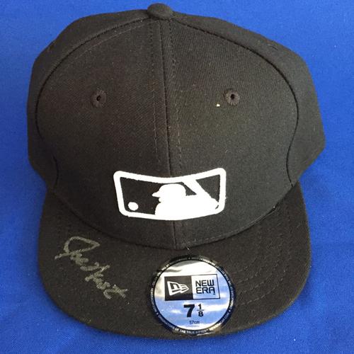 Photo of UMPS CARE AUCTION: Joe West Signed MLB Hat Size 7 1/8