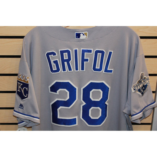 Photo of Game-Used Pedro Grifol Jersey (Size 50) (6/29/17 KC @ STL)