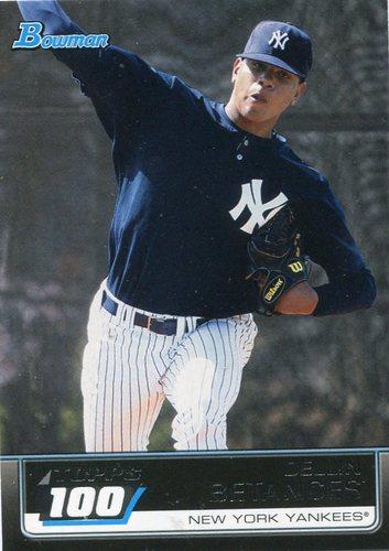 Photo of 2011 Bowman Topps 100 #TP50 Dellin Betances -- Yankees post-season
