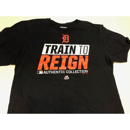 Team-Issued Justin Verlander T-Shirt