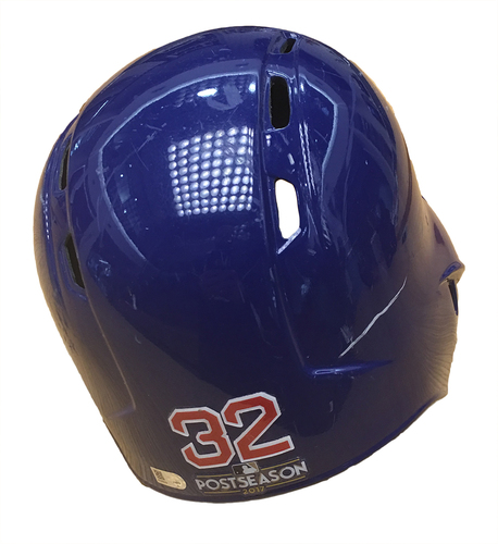 Photo of Brian Duensing 2017 Postseason Batting Helmet