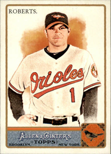 Photo of 2011 Topps Allen and Ginter #61 Brian Roberts