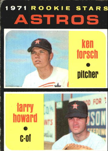 Photo of 1971 Topps #102 Rookie Stars/Ken Forsch RC/Larry Howard RC