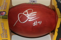 NFL - TEXANS AMOBI OKOYE SIGNED AUTHENTIC FOOTBALL