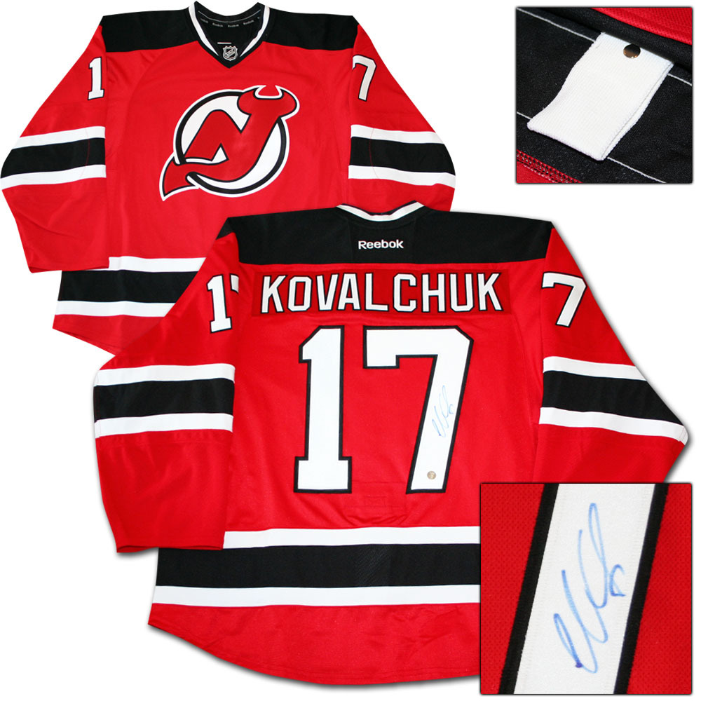 Ilya Kovalchuk Autographed New Jersey Devils Authentic Pro Jersey