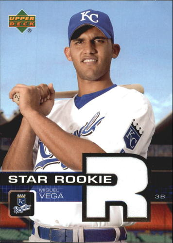 Photo of 2003 Upper Deck Prospect Premieres Game Jersey #P102 Miguel Vega