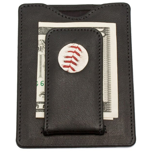 Cardinals Authentics: St. Louis Cardinals Game-Used Baseball Wallet