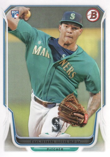 Photo of 2014 Bowman #86 Taijuan Walker RC