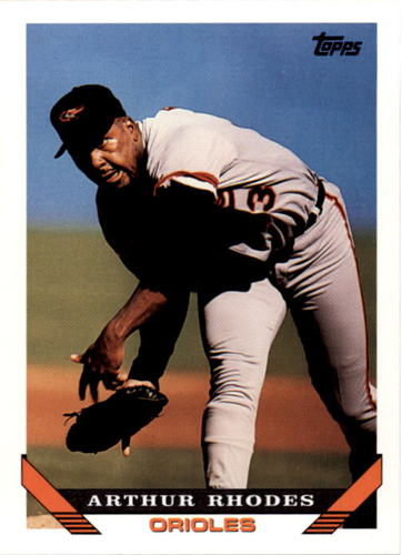 Photo of 1993 Topps #554 Arthur Rhodes