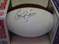 NFL - JETS CHAD PENNINGTON SIGNED PANEL BALL