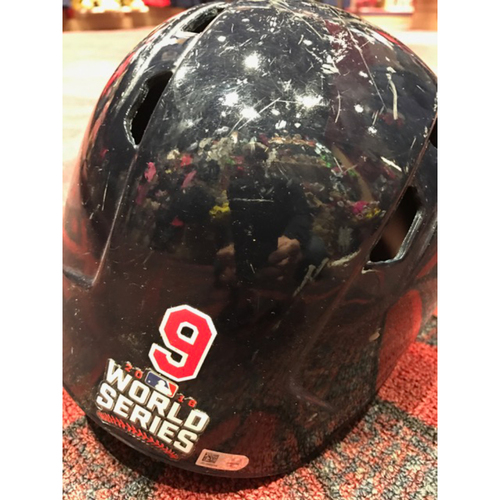 Photo of Erik Gonzalez Game-Used Helmet, 2016 World Series vs. Chicago Cubs - GAME 7