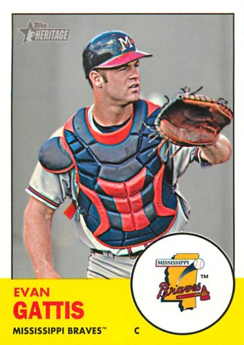 Photo of 2012 Topps Heritage Minors #99 Evan Gattis
