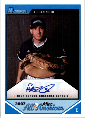 Photo of 2007 Topps AFLAC Autographs #AN Adrian Nieto/Issued in 08 Bowman Draft