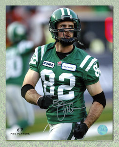 Jason Clermont Saskatchewan Roughriders Autographed CFL 8x10 Photo