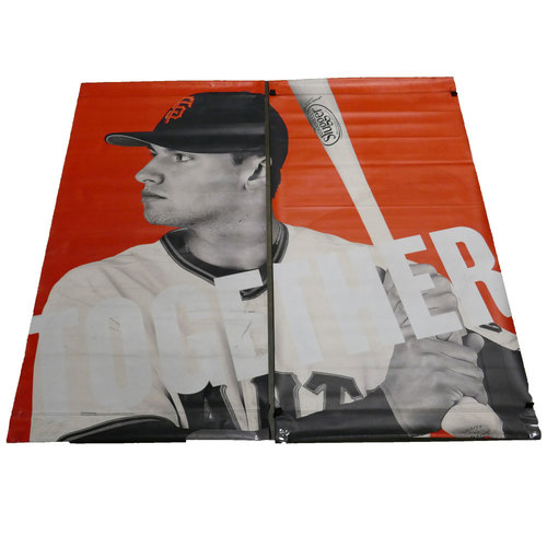 Photo of San Francisco Giants - 2016 Vinyl Street Banner - Joe Panik