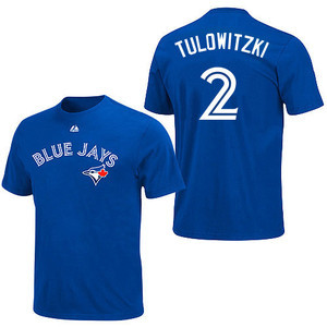 Toronto Blue Jays Youth Troy Tulowitzki Player T-Shirt by Majestic