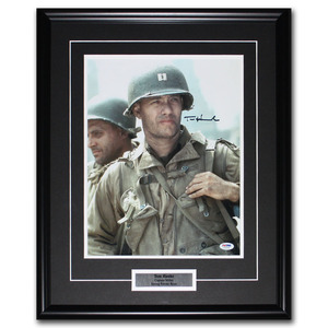 Tom Hanks Autographed 11X14 Framed Photo - Saving Private Ryan