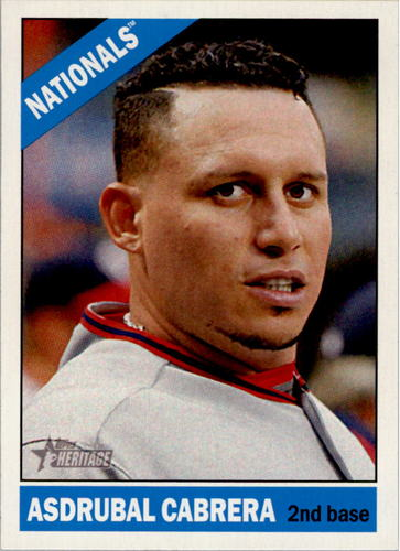 Photo of 2015 Topps Heritage #8 Asdrubal Cabrera