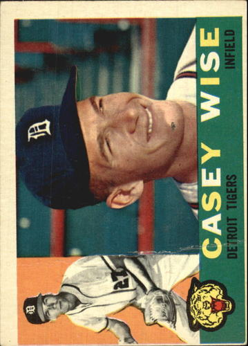 Photo of 1960 Topps #342 Casey Wise