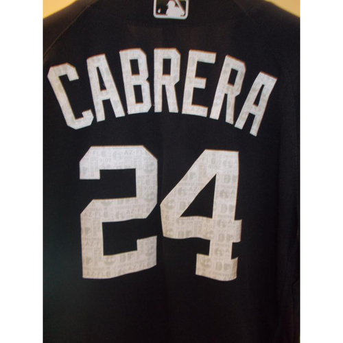 Photo of Miguel Cabrera Spring Training Home Jersey