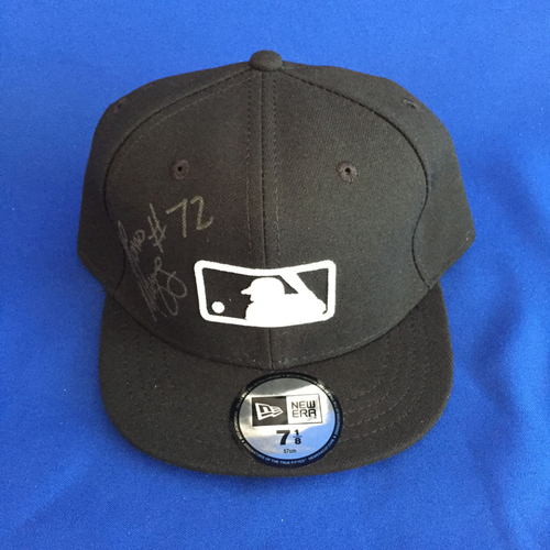 Photo of UMPS CARE AUCTION: Alfonso Marquez Signed MLB Hat Size 7 1/8