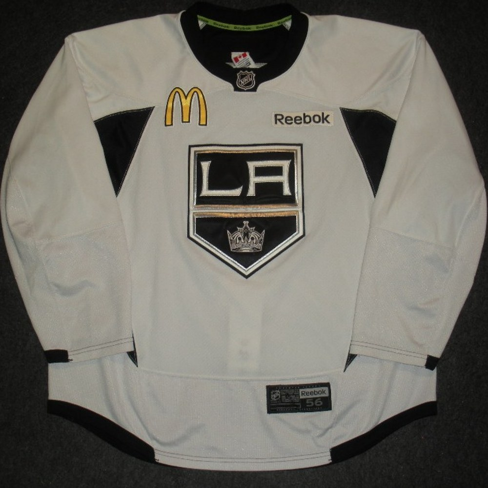Mike Richards - 2014 Stanley Cup Final - Los Angeles Kings - Practice-Worn Jersey
