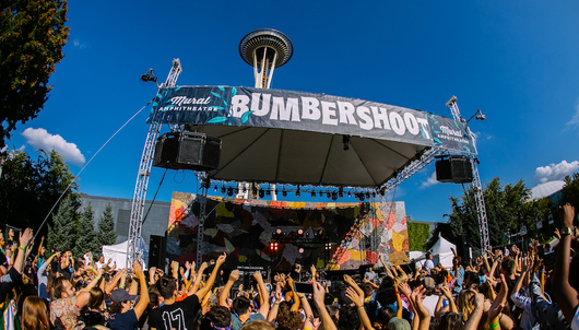 BUMBERSHOOT MUSIC FESTIVAL IN SEATTLE - PACKAGE 3 of 4