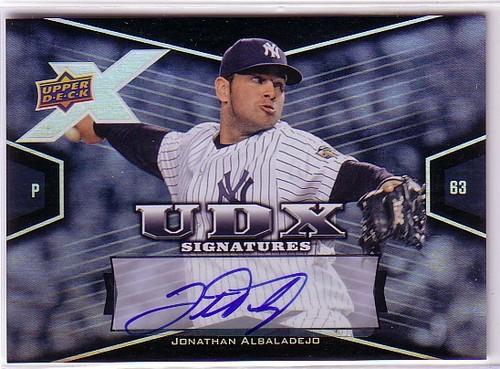 Photo of 2008 Upper Deck X Signatures #JA Jonathan Albaladejo