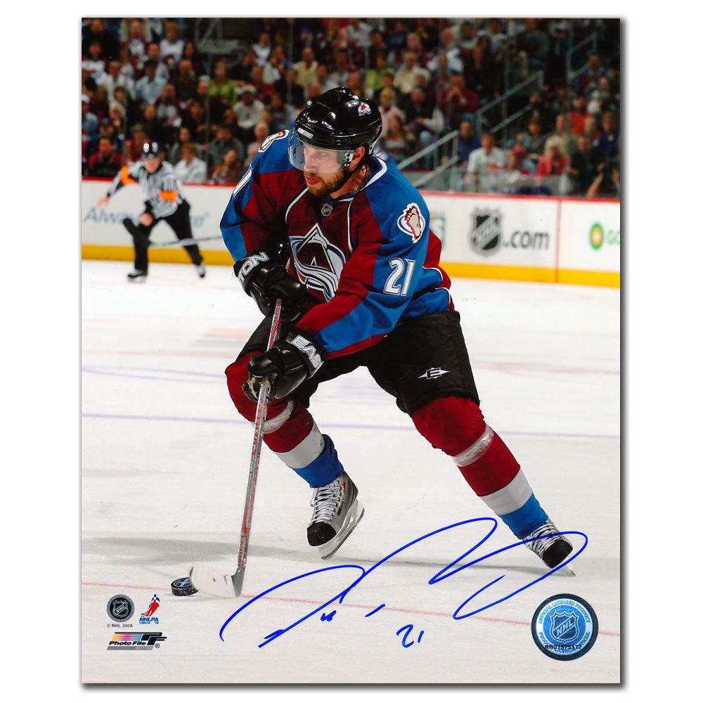 Peter Forsberg Colorado Avalanche Breakout Autographed 8x10
