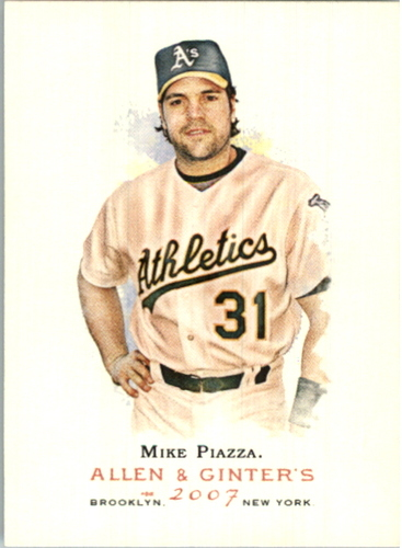 Photo of 2007 Topps Allen and Ginter #195 Mike Piazza