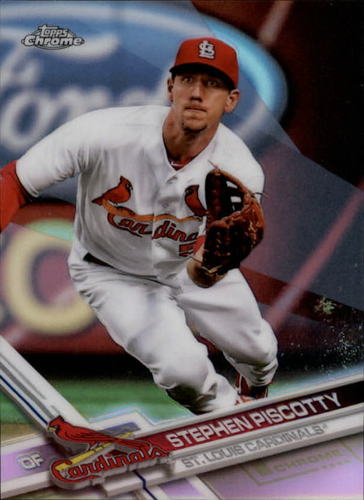 Photo of 2017 Topps Chrome Refractors #56 Stephen Piscotty