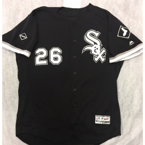 Photo of Avisail Garcia 2016 Game-Used Black Alternate Jersey - Size 50