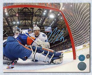 Nazem Kadri Toronto Maple Leafs Autographed First Hat Trick 8x10 Photo