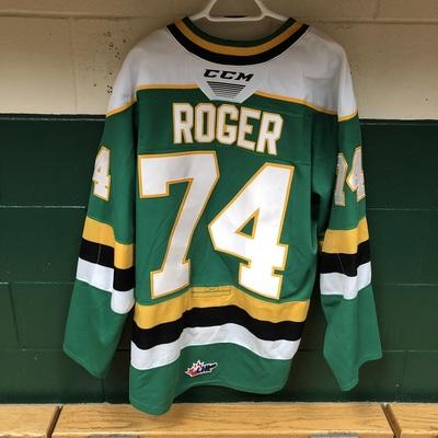 Ben Roger 2019-2020 Green Game Jersey