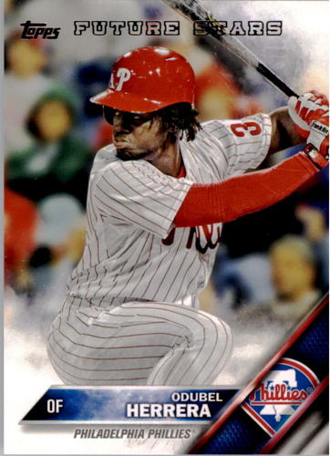 Photo of 2016 Topps #68 Odubel Herrera FS