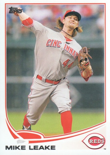 Photo of 2013 Topps #442 Mike Leake