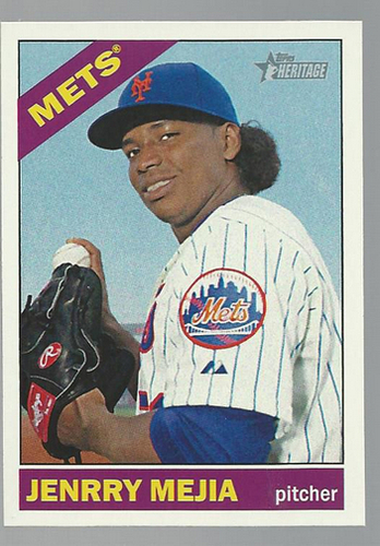 Photo of 2015 Topps Heritage #9 Jenrry Mejia