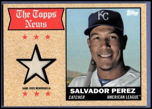 Photo of 2014 Topps Archives Relics #68TRSP Salvador Perez