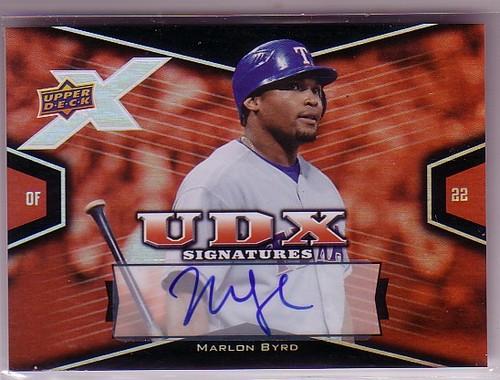 Photo of 2008 Upper Deck X Signatures #MB Marlon Byrd