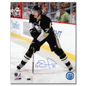 Evgeni Malkin Pittsburgh Penguins Pass Autographed 8x10