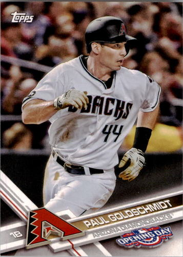 Photo of 2017 Topps Opening Day #169 Paul Goldschmidt