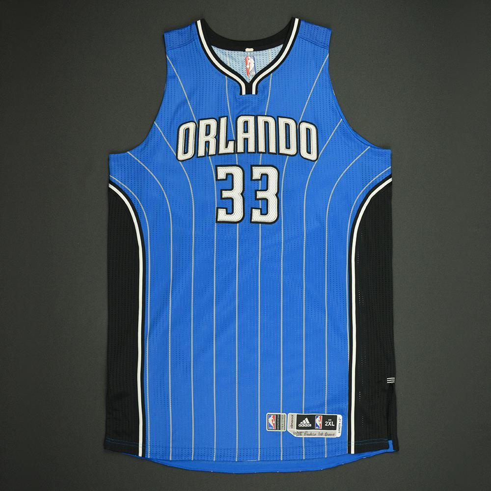 Stephen Zimmerman - Orlando Magic - Game-Worn Rookie Debut Jersey - 2016-17 Season