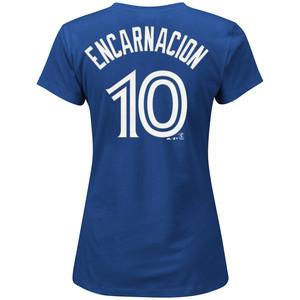 Women's Edwin Encarnacion Player T-Shirt by Majestic