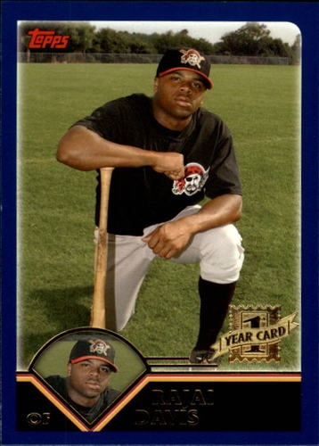 Photo of 2003 Topps Traded #T243 Rajai Davis  FY RC