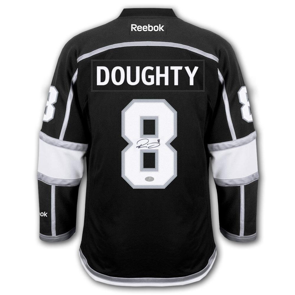 Drew Doughty Los Angeles Kings 2014 Stanley Cup Finals RBK Premier Autographed Jersey